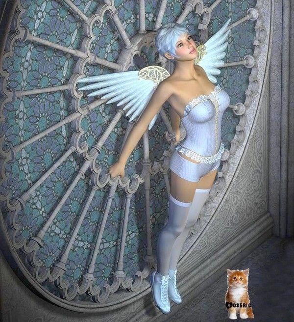 dans fond ecran anges bleus 1be745c9