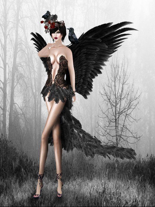 dans fond ecran ange gothique 1d0bda00