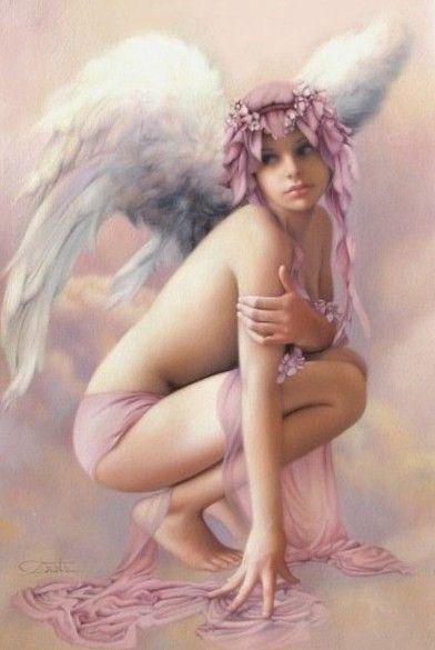 dans fond ecran ange rose 2bcd8362
