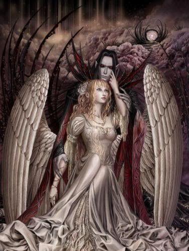 dans fond ecran d'anges couple 359d94d8