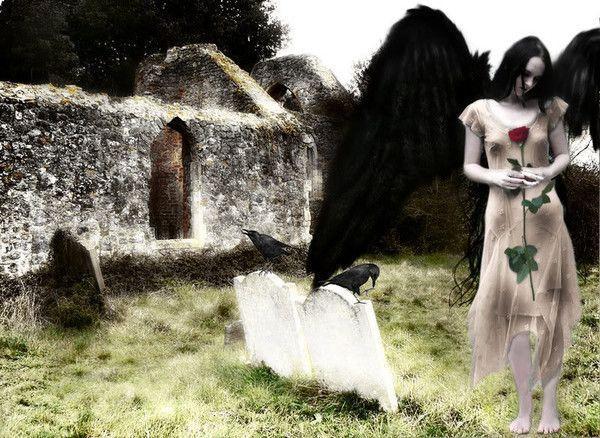 dans fond ecran ange gothique 445dccfc