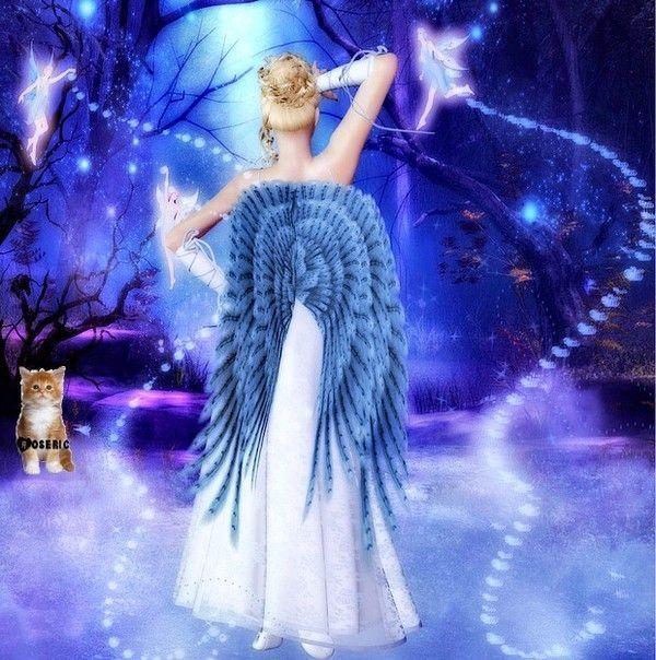 dans fond ecran anges bleus 5529e575