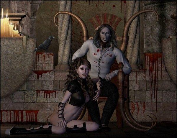 dans fond ecran vampire couple 56f78306