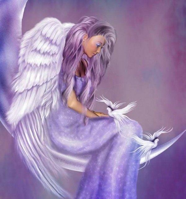 dans fond ecran ange violet 5ea8f0a5