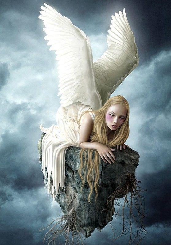 dans fond ecran ange gothique 616cc348