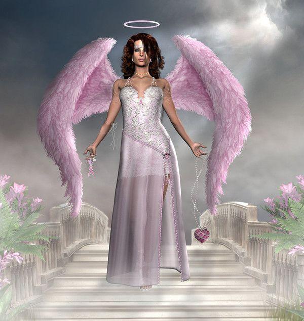 dans fond ecran ange violet 7721666f