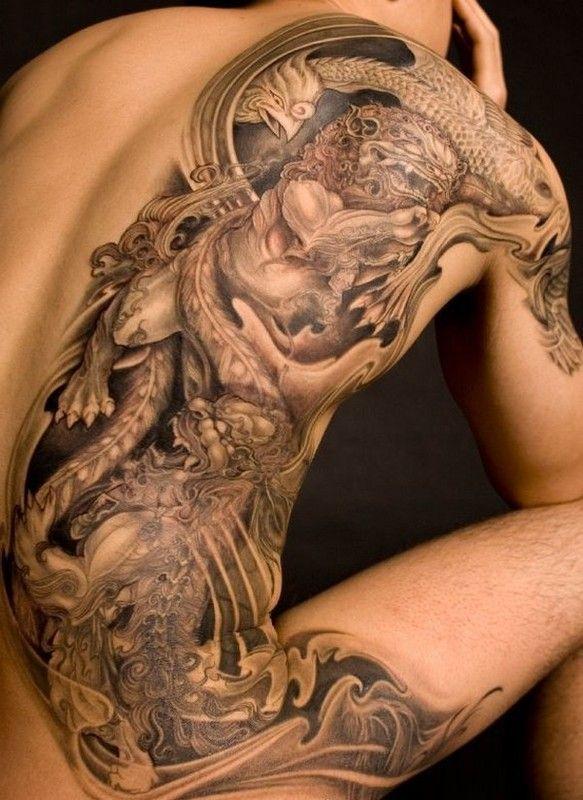 dans beau tatouage 8249c61b