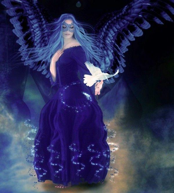dans fond ecran anges bleus 98c07083