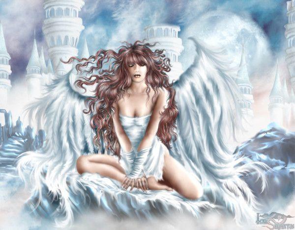 dans fond ecran ange blanc b0395f18