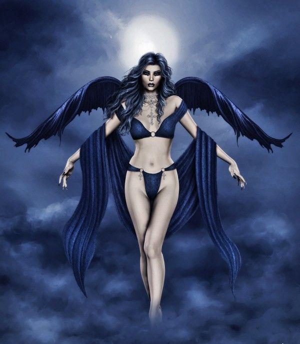 dans fond ecran anges bleus b67950eb