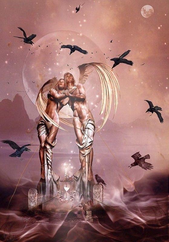 dans fond ecran d'anges couple d5fceb86