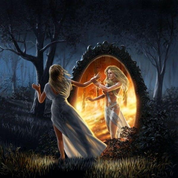 Miroir magique monde de reve for O miroir la rochelle