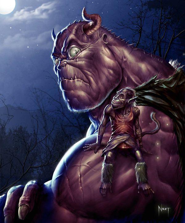 dans fond ecran trolls et gnomes f5e402a7