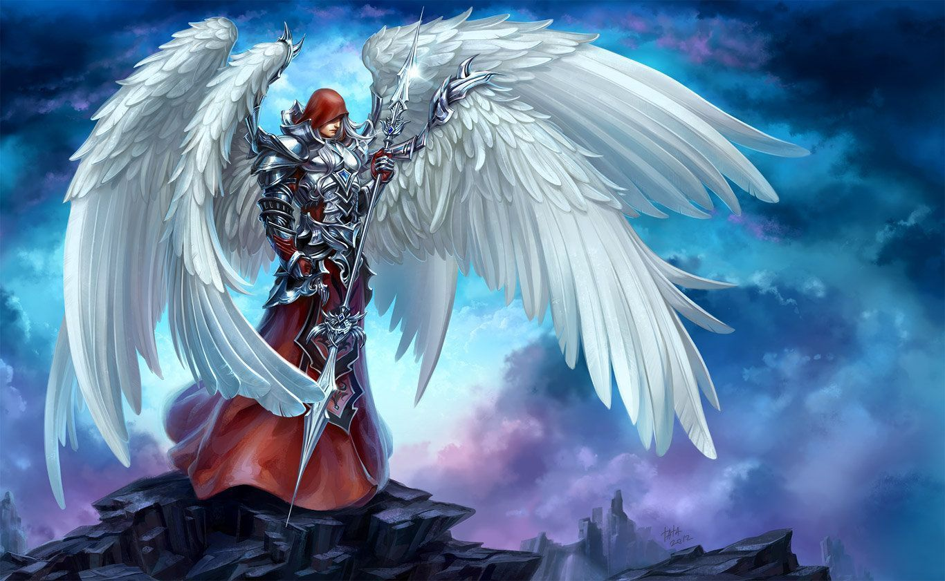 Fotos de anjos guerreiros 91